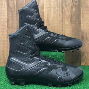 NEW Under Armour 3000177-001 UA Highlight MC Football Cleats Men's SZ 12 Black